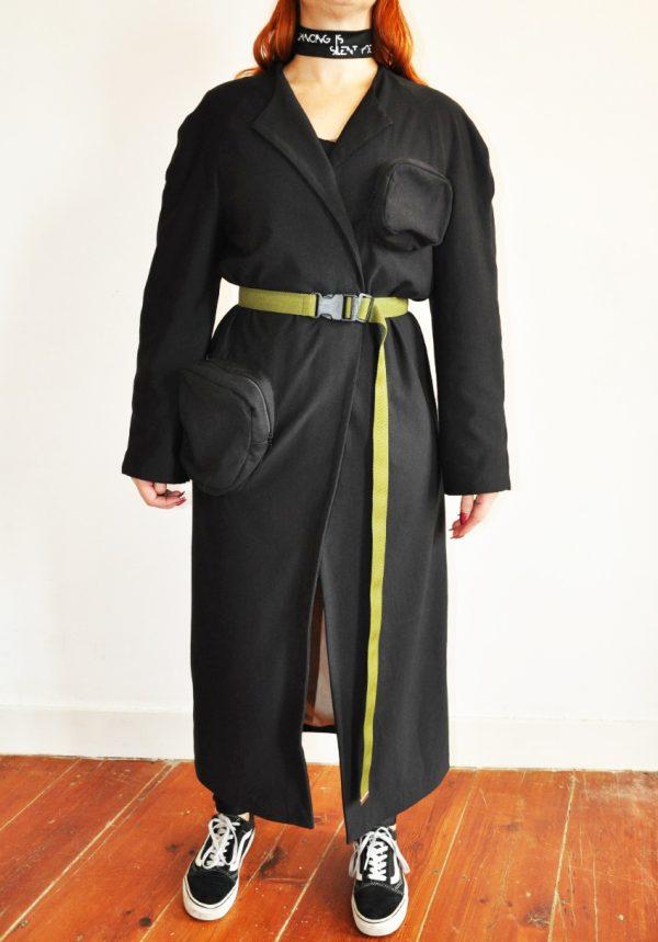 Pocket coat devant