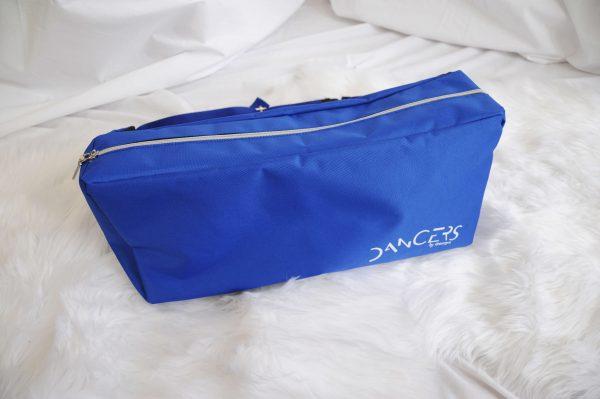 dancers bag blue close up