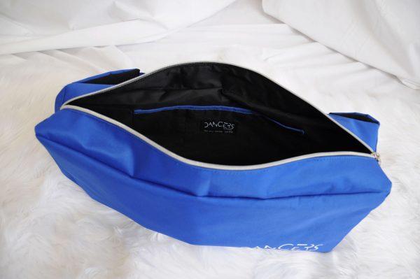dancers bag blue inside