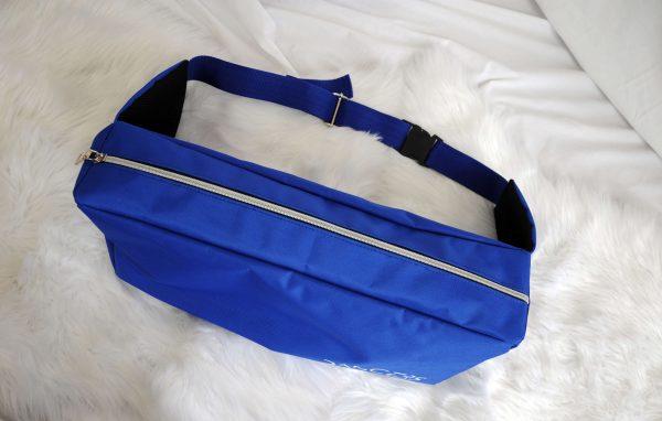 dancers bag blue up