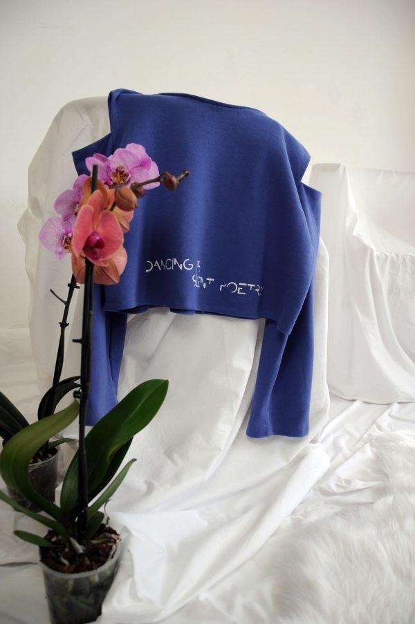 shoulder cut sweatshirt produto 1
