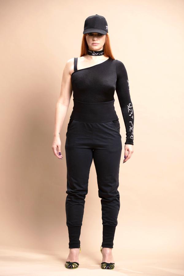 Level up bodysuit, lucky curvy jogger 1